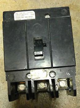 CUTLER HAMMER GHB3020 3 POLE 20 AMP 480 VOLT CIRCUIT BREAKER USED