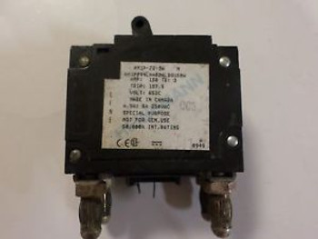 (1) HEINEMANN AM1P Z2 3W CIRCUIT BREAKER  150 AMP  2 POLE