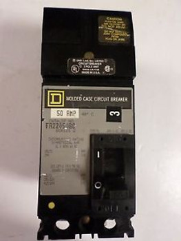 (1) SQUARE D FA22050BC CIRCUIT BREAKER 2 POLE 50 AMP