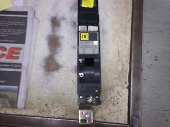 USED Square D - FY14020C - 1 Pole 20 AMP