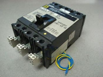USED Square D FAL360151212J 15 Amp Industrial Circuit Breaker 600VAC