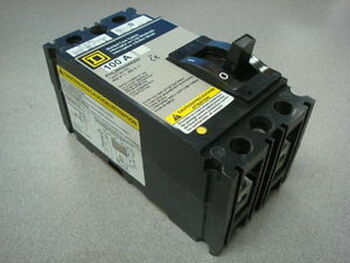 USED Square D FHL26000M4200 100 Amp Molded Case Switch 600VAC 2 Pole
