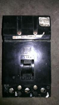 Used Square D Q232175  175 amp I line Black Face  circuit breaker