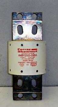 #Sls1B14 New Ferraz Shawmut Current Limiting 2500Amp Fuse 600Vac 16758Nad