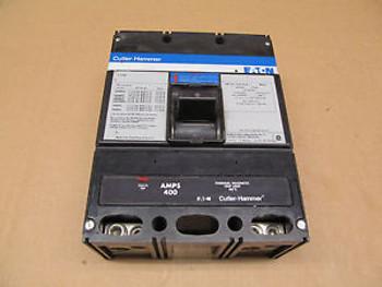 1 CUTLER HAMMER LSB220400E CUTLER HAMMER LSB TYPE LSE-2 2 POLE 400 AMP TRIP 240V