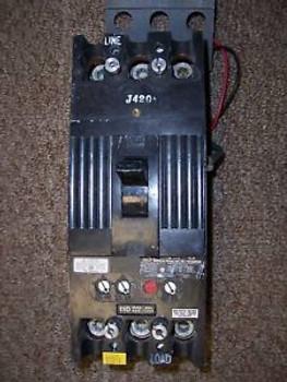 GE TFK TFK236F000 3 pole 110 amp trip 600V Breaker