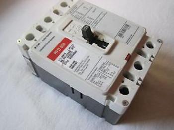 1 CUTLER HAMMER HFD3175, HFD 65k, 175A, 3-Pole, 600V, F-Frame, Circuit Breaker