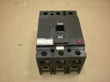1 CHALLENGER SEH-3-C-100 SEH3C100 SEH 100 AMP 3 POLE 480 VAC CIRCUIT BREAKER
