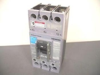 SIEMENS SENTRON CIRCUIT BREAKER CATFXD63B225 225A/600V/3POLE W/AUX