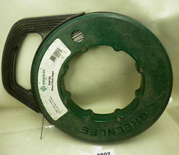 (8802) Greenlee Steel Fish Tape 438-20 240 With Winder