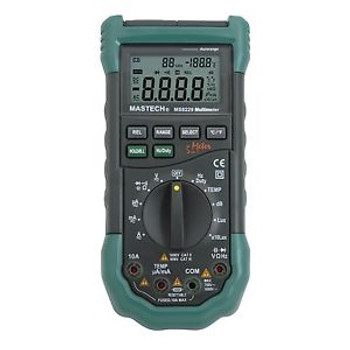 Mastech MS8229 Auto-Range 5-in-1 Multi-functional Digital Multimeter