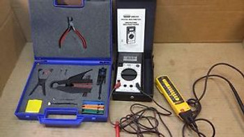 Electrician Tools: Digital Multi-Meter, Fluke T3 Electrical Tester & Hand Tools