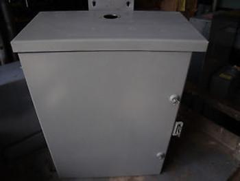 #1051 Hoffman Enclosure A16R126HCR w/Blackplate 16 X 12 X 7 3R