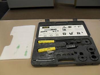 USED Apollo PEX Multi Head Crimp Tool Kit