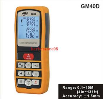 Photoelectric Laser Distance Meter Volume Tester 0.1m~40m Measure Range Finder