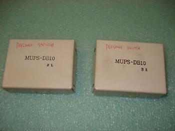(NEW) 2 PRESSURE SWITCH MUPS-DB10