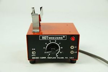 Meisei Corp HotTweezers Hot Tweezers M-10 Power Supply Tested hotweezers