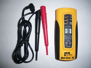 Ideal Vol-Con Xl Voltage/Continuity Tester 61-086 New