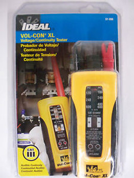 IDEAL VOL-CON XL Voltage Meter/Continuity/Solenoid Tester Wiggy NEW