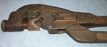 Vintage BURNDY MY28 ALUMINUM COPPER CRIMPING TOOL EXTREMLEY RARE MODEL # WORKS