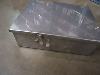 STAINLESS ENCLOSURE 24-1/2 x 18-3/4 x 9