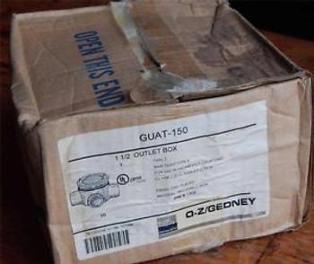 #12  EGS  1-1/2 Outlet Box  GUAT-150  Type T  Rain Tight Type 4  &gtNEW&lt