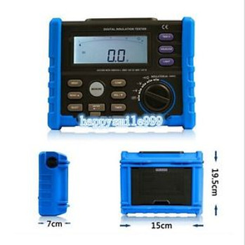 New AIM01 Digital Insulation Resistance Tester Meter Multimeter Megger 10G 1000V
