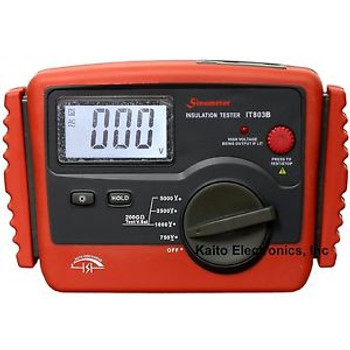 Sinometer IT-803B Professional Digital Insulation Tester 200 GOhm Max