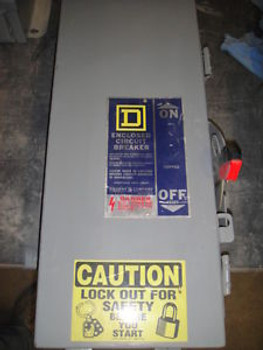100 Amp Enclosed Breaker By Square D