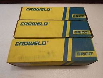 TAC3Q3Q Erico Mould Cable Horizontal Tee 500 KCM CONC 300PLUSF20 New  Lot of 3