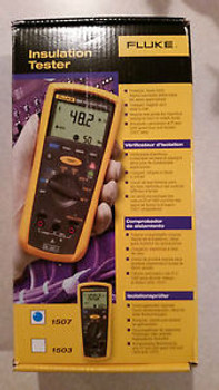 New  Fluke 1507 Insulation Tester Megger