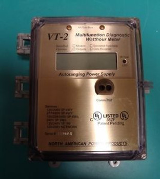 PERFECT AUTORANGING MULTIFUNCTION DIAGNOSTIC WATT HOUR METER WHM VT-2 W/ CTS