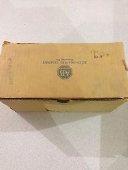 New In Box Allen-Bradley Pressure Switch  836-C63J  Series B