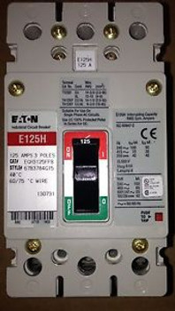 Cutler Hammer EGH3125FFB - 3P, 125 Amp, 480V  BRAND NEW
