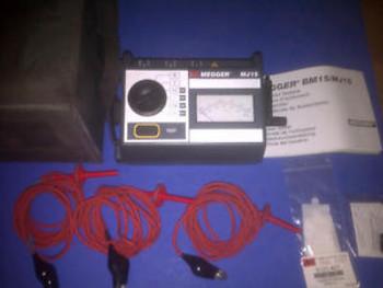 Biddle Megger Bm11 5kv Analog Insulation Resistance Tester Spw Industrial