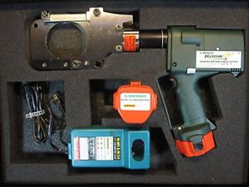 GREENLEE ESG85GL Battery Cordless Hydraulic Cable/Wire Cutter.LARGE HUGE 3.25