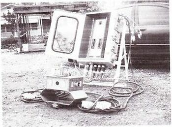 50 AMP,120/240 VOLT, THREE PHASE, NEMA 3R ELECTRICAL DISTRIBUTION PANEL