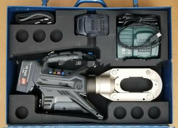 Cembre B1500A 15T hydraulic battery crimper crimping tool Burndy P U die adapter