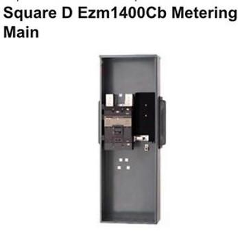 Square D Metering Main Ezm1400cb