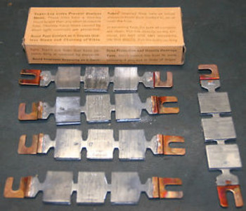 LOT (10) Bussmann 250A 250V Super-Lag Renewal Fuse Links LKS-250