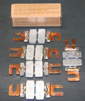 LOT (10) Bussmann 250A 250V Super-Lag Renewal Fuse Links LKN-250