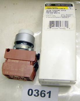 (0361) GE Illuminated Push Button P9MPLBSDN12NCJI