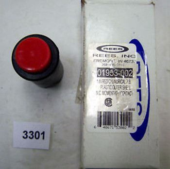 (3245) Rees Push Button Operator Cylindrical 01953-002