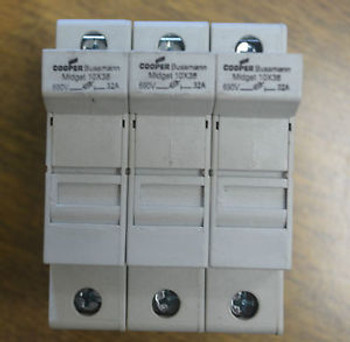 (6) Cooper Bussmann Fuse-Disconnector 690V 32A  CHM3D