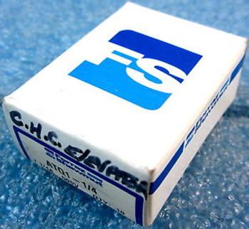 BOX OF 10 FERRAZ SHAWMUT ATQ1-1/4 FUSES, CLASS CC, ATQ SERIES, 1.25A 1-1/4 AM