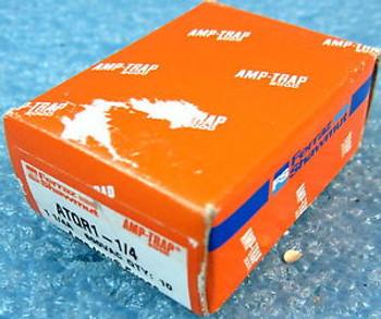 BOX OF 10 FERRAZ SHAWMUT ATQR1-1/4 FUSES, CLASS CC, ATQR SERIES, 1.25A 1-1/4