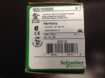 (1) 9001Kr9R Square D Mushroom Button & (2) 9001Ka3 Spst Nc W/Screw Clamps