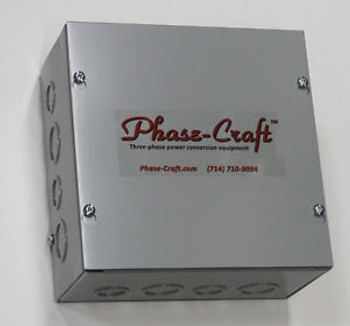 0-2 HP STATIC PHASE CONVERTER