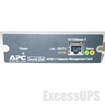 APC AP9617 NETWORK MANAGEMENT CARD