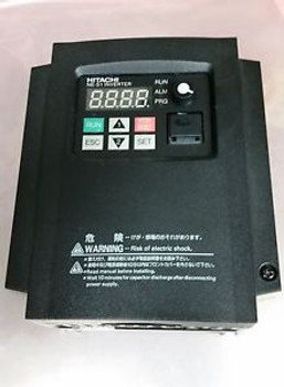 Hitachi NES1-007SB  1HP 1-phase In 3-phase Out 200-240volt  also Phase Converter